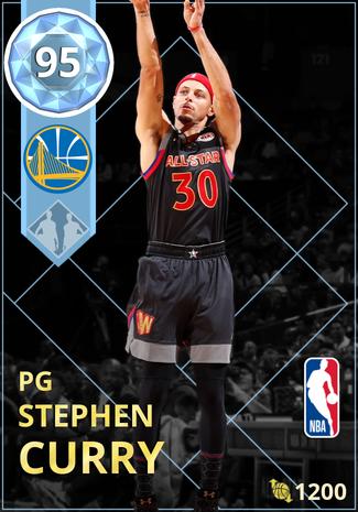 Stephen Curry diamond card