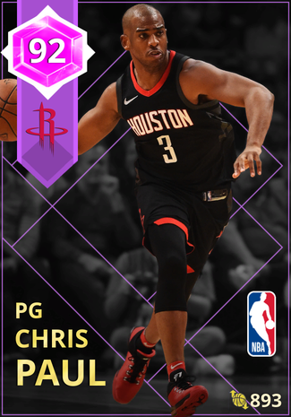 Chris Paul amethyst card