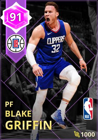 Blake Griffin amethyst card