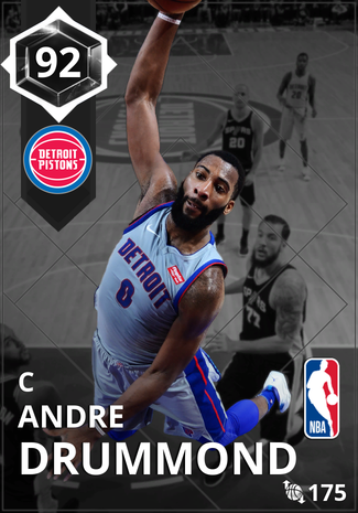 Andre Drummond onyx card