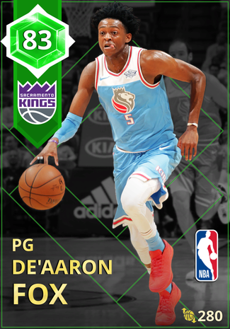 De'Aaron Fox emerald card