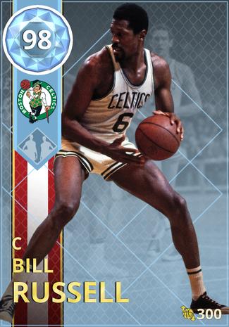 '61 Bill Russell diamond card