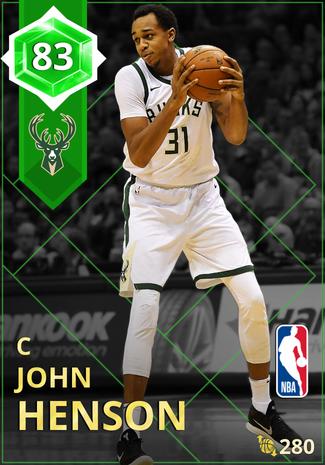 John Henson emerald card