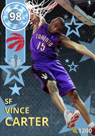 '04 Vince Carter diamond card