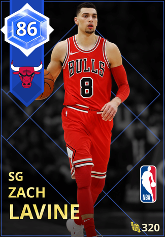 Zach LaVine sapphire card