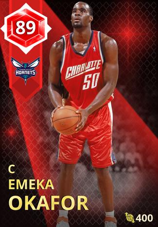 Emeka Okafor ruby card