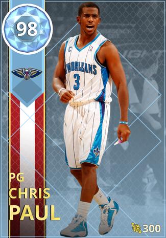 '11 Chris Paul diamond card