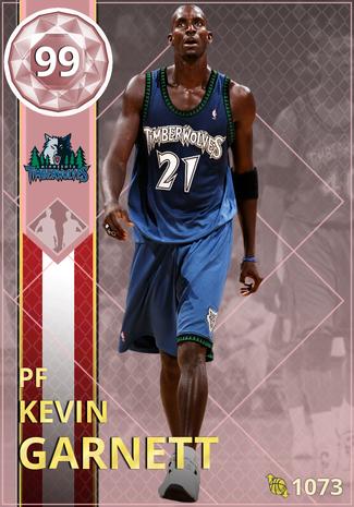 '12 Kevin Garnett pinkdiamond card