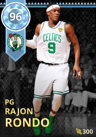 '16 Rajon Rondo diamond card