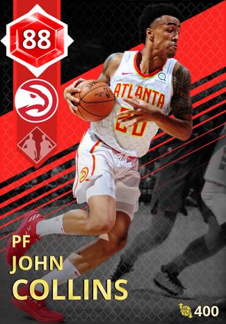 John Collins ruby card