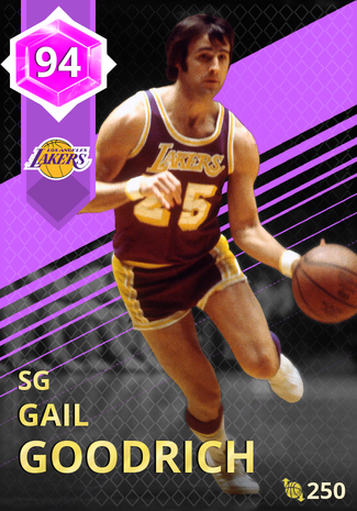 '72 Gail Goodrich amethyst card