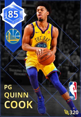 Quinn Cook sapphire card