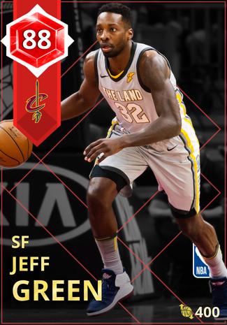 Jeff Green ruby card