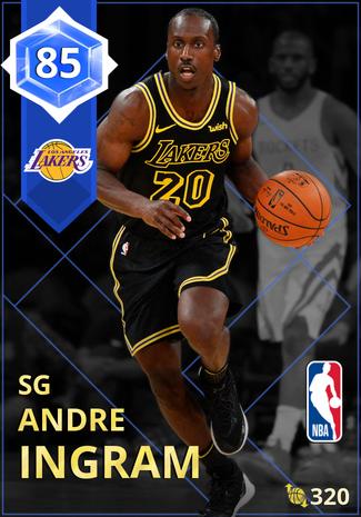 Andre Ingram sapphire card