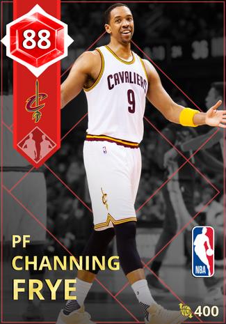 '12 Channing Frye ruby card