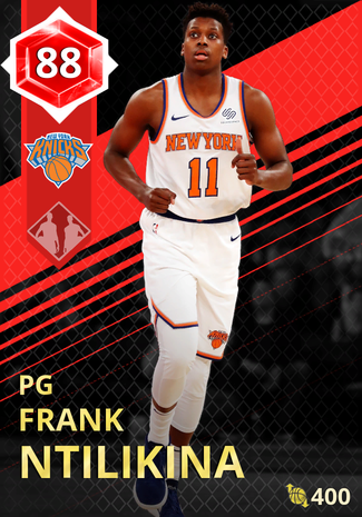 Frank Ntilikina ruby card