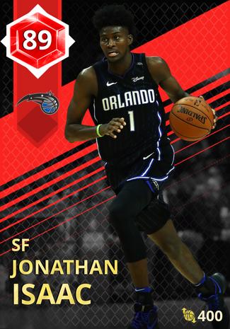 Jonathan Isaac ruby card