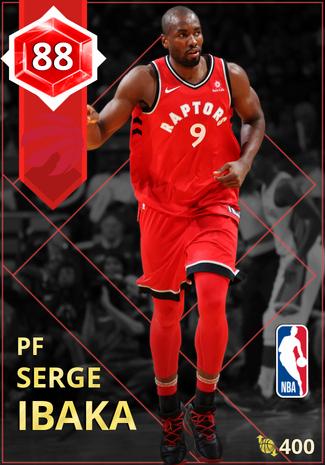 Serge Ibaka ruby card