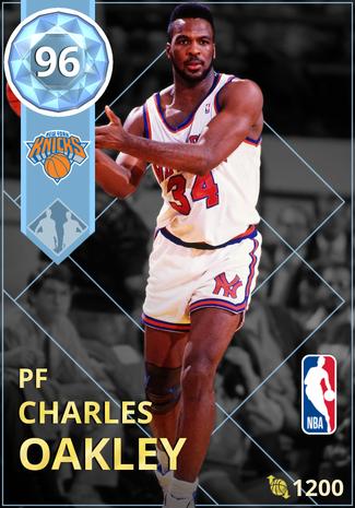 '98 Charles Oakley diamond card