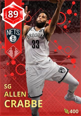 Allen Crabbe ruby card