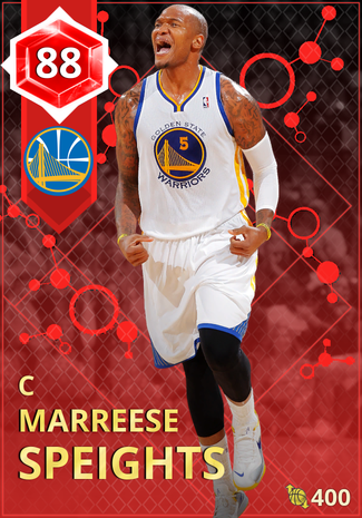Marreese Speights ruby card
