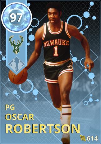 '69 Oscar Robertson diamond card