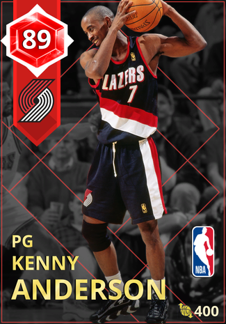 '01 Kenny Anderson ruby card