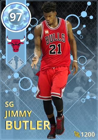 Jimmy Butler diamond card