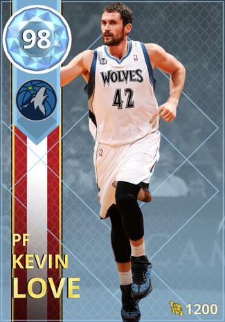 Kevin Love diamond card