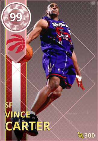 '04 Vince Carter pinkdiamond card