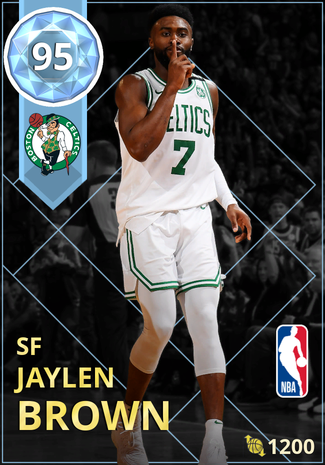 Jaylen Brown diamond card