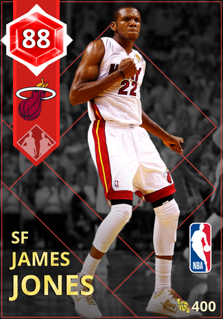 '09 James Jones ruby card