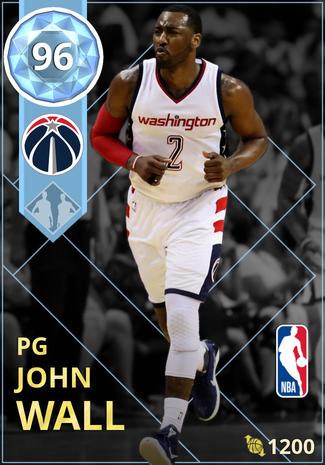 John Wall diamond card