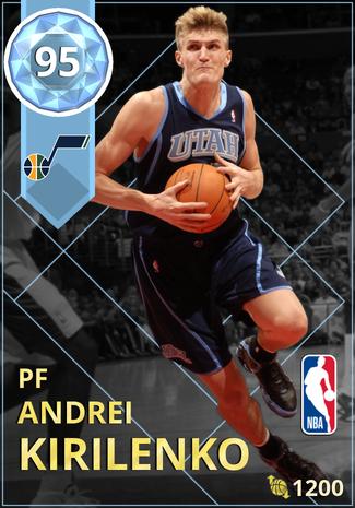 '08 Andrei Kirilenko diamond card