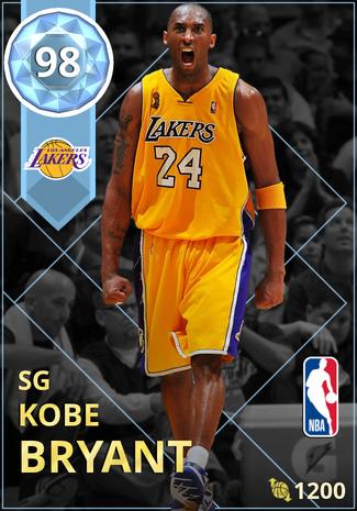 '13 Kobe Bryant diamond card