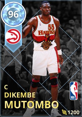 '95 Dikembe Mutombo diamond card