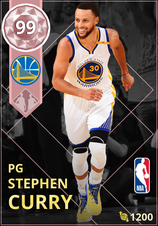 Stephen Curry pinkdiamond card