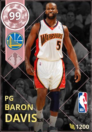 '08 Baron Davis pinkdiamond card