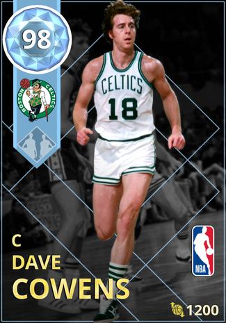 '87 Dave Cowens diamond card
