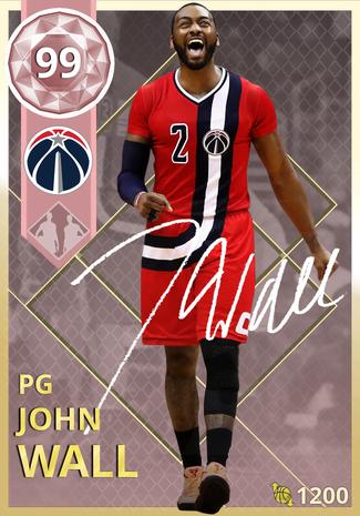 John Wall pinkdiamond card