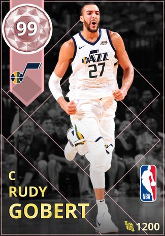 Rudy Gobert pinkdiamond card