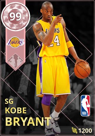 '12 Kobe Bryant pinkdiamond card