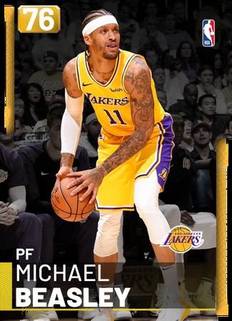 Michael Beasley gold card