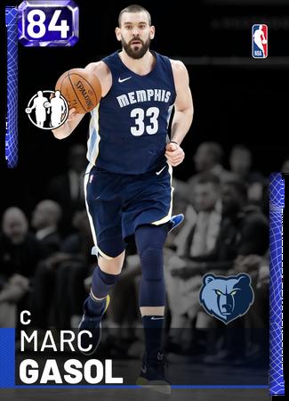 Marc Gasol sapphire card