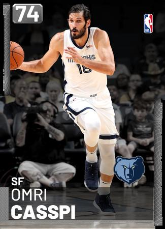 Omri Casspi silver card