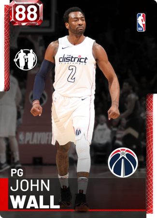 John Wall ruby card