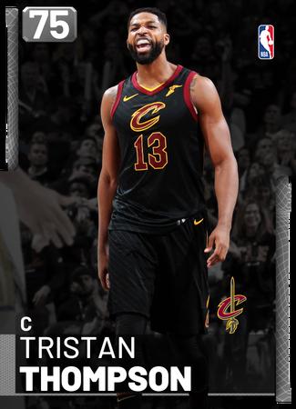 Tristan Thompson silver card