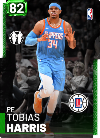Tobias Harris emerald card