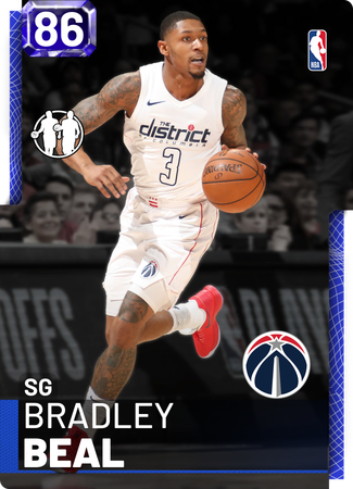 Bradley Beal sapphire card