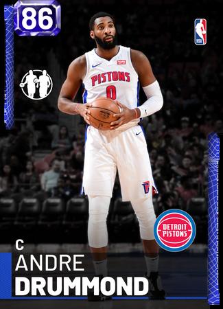 #45 Andre Drummond  2017-18 Panini Contenders Basketball Sammelkarte